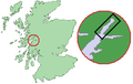 Scotland Map (Firth of Lorn Detail) Loch Linnhe.png