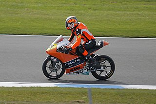 Scott Deroue Dutch motorcycle racer