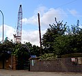 Scrap yard and entrance arch to 5 weirs walk. - geograph.org.uk - 560908.jpg