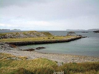 Skullomie Human settlement in Scotland
