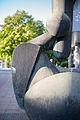 Sculpture Grosses Rufzeichen Fritz Koenig Schiffgraben Hanover Germany.jpg