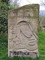 Sculpture at entrance to Trevor Basin - geograph.org.uk - 1242391.jpg