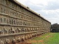Sculptures on exterior wall at Hazara Ramachandra temple.jpg