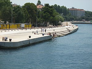 European Prize for Urban Public Space - Sea organ, Zadar, Croatia (2006 winner)