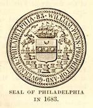 History of Philadelphia - Philadelphia's seal when founded