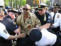 Sean Bell Protest NYC 2008-06-12 arrest.jpg