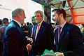 Secretary Kerry Shares a Laugh with Former Vice President Gore and White House Senior Advisor Deese at the COP21 Climate Change Conference (23070388733).jpg