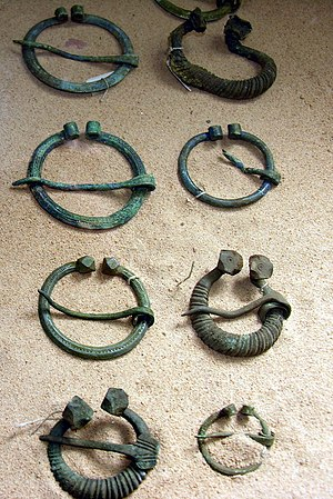 Lithuanian brooches from 9th-12th centuries Seges is senkapio.jpg