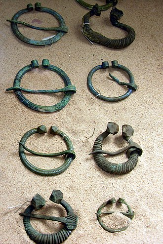Lithuania - Lithuanian brooches from 9th–12th centuries