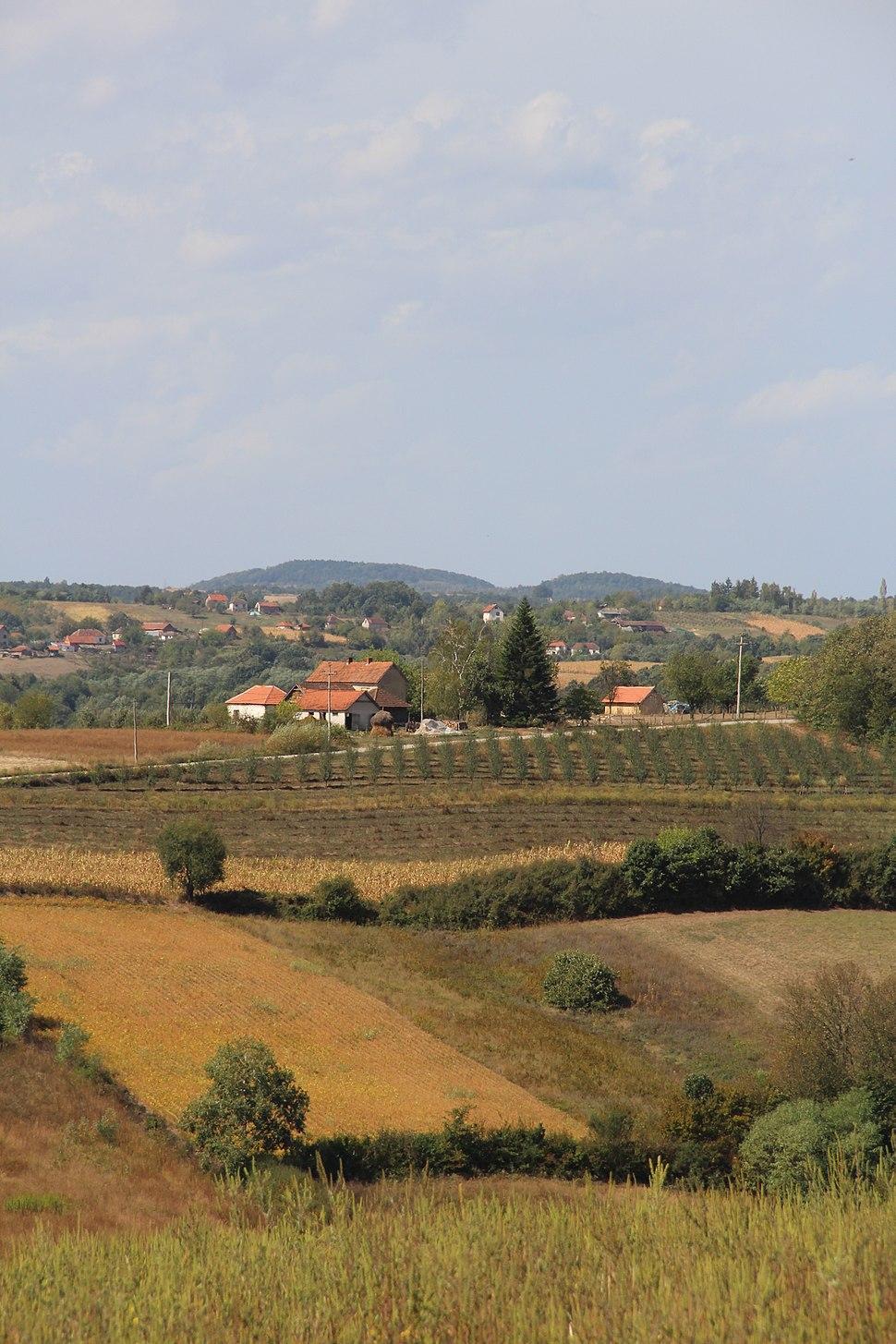 Selo Blizonje - opština Valjevo - zapadna Srbija - Panorama 7