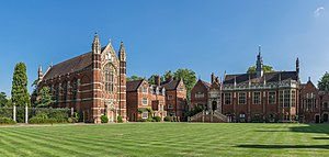 The exterior of Selwyn College's Chapel.