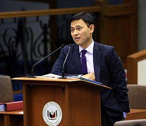 Sonny Angara - Image: Senator Angara