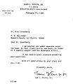 Senator Sam Ervin Letter addressed to Professor Greenberg.jpg