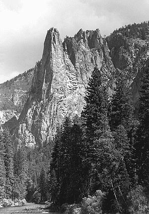 Allen Steck - Sentinel Rock in Yosemite Valley