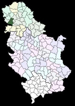 mapa backa palanka Opština Bačka Palanka — Vikipedija, slobodna enciklopedija mapa backa palanka