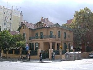 Autoritat del Transport Metropolità - The house hosting the ATM headquarters in the Barcelona district of Sarrià-Sant Gervasi.