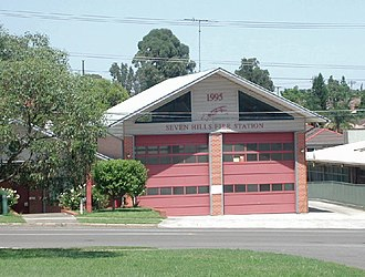 Seven Hills, New South Wales - Seven Hills Fire Station
