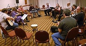 Filk music - Filk circle