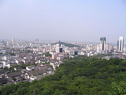 Skyline of Shaoxing