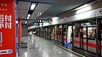 Shenzhen Metro Line 1 SZU Sta Platform.jpg