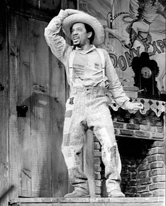 Sherman Hemsley - Sherman Hemsley in the Broadway musical Purlie (photo taken on June 8, 1972)