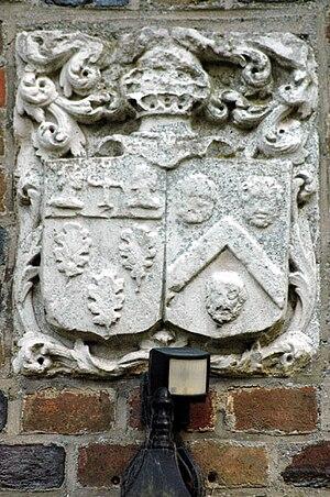 Château du Bosc Théroulde - Image: Shield le fae le roux