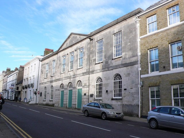 Shire Hall, High West St, Dorchester - geograph.org.uk - 680103