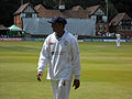 Shivnarine Chanderpaul at Queen's Park, Chesterfield. (14615303085).jpg