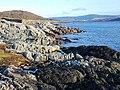 Shoreline, West Loch Tarbert - geograph.org.uk - 1599419.jpg