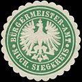Siegelmarke Bürgermeister-Amt Much, Siegkreis W0383807.jpg