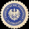 Siegelmarke Direktion der Königlichen Strafanstalt - Groß Strehlitz W0216728.jpg