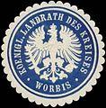 Siegelmarke K. Landrath des Kreises Worbis W0352197.jpg