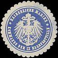Siegelmarke K. Marine Kommando der IX. Halbflottille W0357593.jpg