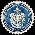 Siegelmarke Kaiserliche Marine - Kommando der I. Matrosen Artillerie - Abtheilung W0214247.jpg
