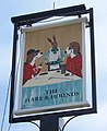 Sign for the Hare and Hounds, Charlton Down - geograph.org.uk - 779880.jpg