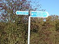 Signpost at Weedley Springs - geograph.org.uk - 1056972.jpg