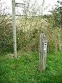 Signposts, Alloa - Dunfermline link - geograph.org.uk - 1545867.jpg