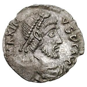 Maximus of Hispania - Siliqua of Maximus