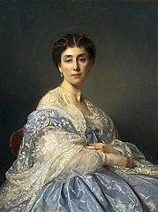 Portrait of Aleksandra Zatlerowa.