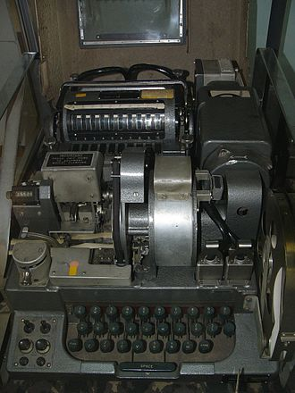 BID/60 - A Singlet machine on display at Bletchley Park