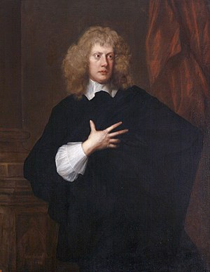 Acland baronets - Sir John Acland, 1st Baronet of Colum John. Portrait c. 1644 by Robert Walker (1599–1658), collection of National Trust, Killerton House