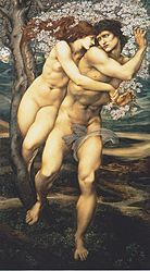 Edward Burne-Jones: The Tree of Forgiveness