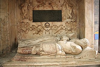 Sleaford - The tomb of Sir Edward Carre (died 1618) in St Denys' Church