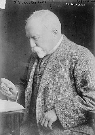 Sir James Caird, 1st Baronet, of Belmont Castle - Sir James Key Caird, circa 1910-15