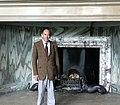 Sir Terence English, Addington Palace fire place.jpg