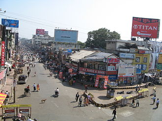 Nagpur - Sitabuldi Market, one of the busiest commercial areas of Nagpur