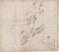Sjøkart over kysten utenfor Sør-Trøndelag, fra Husøya til Værøya, fra 1790.png