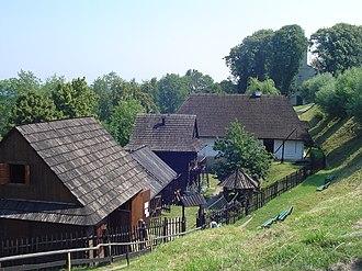 Dobczyce - Image: Skansen Dobczyce