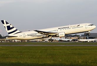 SkyGreece Airlines - SkyGreece Airlines Boeing 767-300ER
