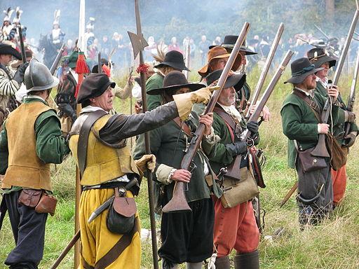 Slag om Grolle 2008-2 - Musketiers in Spaanse dienst